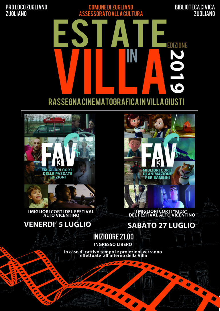 Cinema In Villa 2019